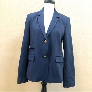Jcrew navy blue  blazer Sz 12